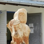 Hannelore, Bildhauer, Holz – 01