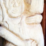 Hannelore, Bildhauer, Holz – 03
