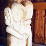 Hannelore, Bildhauer, Holz – 05