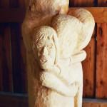 Hannelore, Bildhauer, Holz – 06