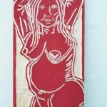Hannelore, Bildhauer, Holz – 08