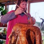 Hannelore, Bildhauer, Holz – 10