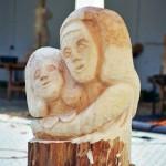 Hannelore, Bildhauer, Holz – 11