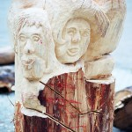 Hannelore, Bildhauer, Holz – 12