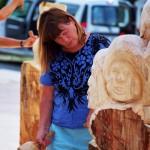 Hannelore, Bildhauer, Holz – 14