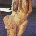 Hannelore, Bildhauer, Holz – 15