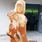 Hannelore, Bildhauer, Holz – 18