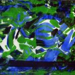 Hannelore, abstrakte Bilder Acryl – 01
