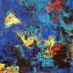 Hannelore, abstrakte Bilder Acryl – 05