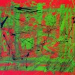 Hannelore, abstrakte Bilder Acryl – 07