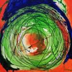 Hannelore, abstrakte Bilder Acryl – 09