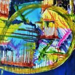 Hannelore, abstrakte Bilder Acryl – 12