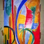 Hannelore, abstrakte Bilder Acryl – 14