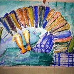 Hannelore, abstrakte Bilder Acryl – 15